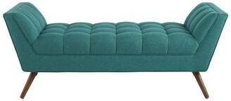 Modway Response Medium Upholstered Fabric Bench