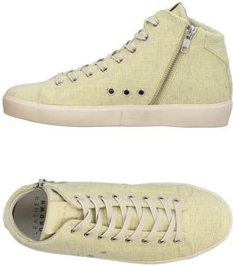 Leather Crown High-tops & sneakers - Item 11385151