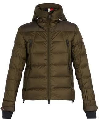 Moncler Camurac Quilted Down Jacket - Mens - Khaki