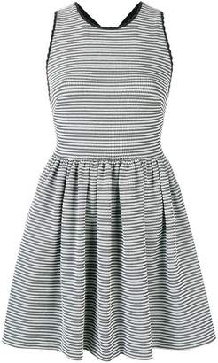 Miu Miu striped mini skater dress