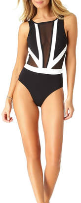 Anne Cole Mesh One Piece