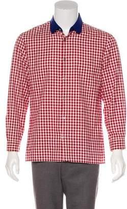 Gucci Printed Button-Up Shirt