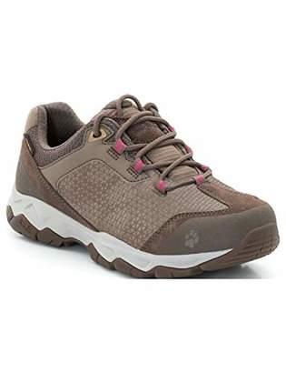 Jack Wolfskin Women's Rock Hunter Texapore Low Women's Waterproof Hiking Shoe Shoe