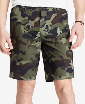 Polo Ralph Lauren Men's Camo Hybrid Shorts $85 thestylecure.com