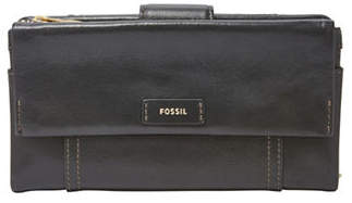 Fossil Ellis Leather Clutch