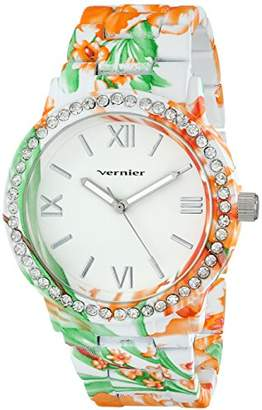Vernier Women's VNR11168TRO Analog Display Japanese Quartz Multi-Color Watch