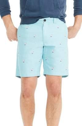 J.Crew J. CREW Embroidered Flamingo Shorts