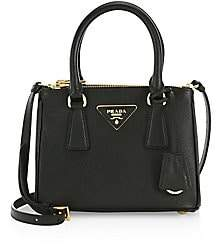 Prada Women's Mini Galleria Saffiano Leather Tote Bag