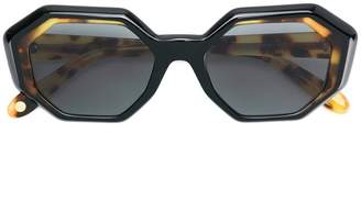 Garrett Leight oversized tinted sunglasses