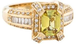 LeVian Le Vian 14K Sapphire & Diamond Ring