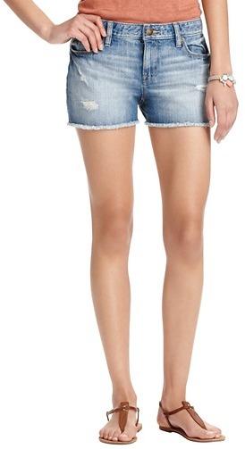 """LOFT Summer Light Wash Denim Shorts with 2 1/2"""" Inseam"""