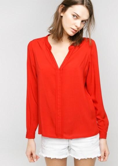 MANGO Outlet Flowy Shirt