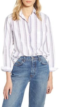 Grayson The Hero Stripe Washed Cotton Shirt