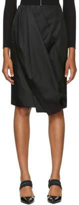 Prada Black Balloon Skirt