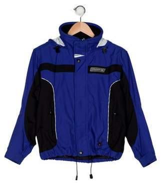 Spyder Boys' Hooded Zip-Up Jacket
