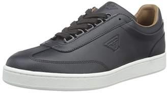 Armani Jeans Men's Low Top Eagle Logo Fashion Sneaker