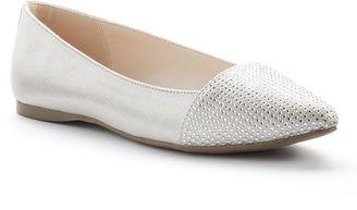Apt. 9® Women's Sparkle Toe Flats $49.99 thestylecure.com