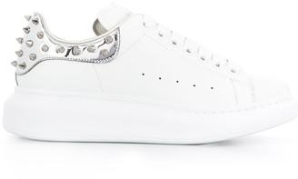 Alexander McQueen oversized sole studded sneakers