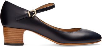 A.P.C. Victoria Mary-Jane leather pumps $312 thestylecure.com