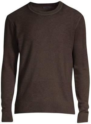 ATM Anthony Thomas Melillo Cotton & Cashmere Crewneck Sweater