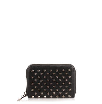 Christian Louboutin Panettone black spikes coin purse