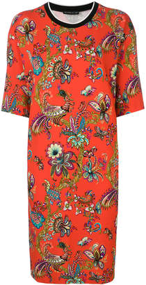 Etro floral printed T-shirt dress
