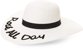 August Hat Company Rose All Day Floppy Hat