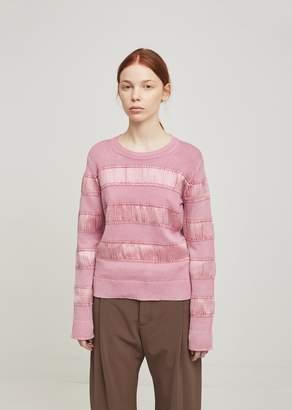 Sies Marjan Zaylee Satin Stripe Sweater BlueBerry Milkshake