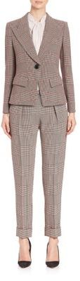 Giorgio Armani Houndstooth Suit $3,995 thestylecure.com
