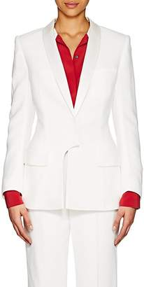 Haider Ackermann Women's Crepe Hourglass Two-Button Blazer