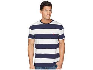 Polo Ralph Lauren Classic Fit Bold Striped Pocket T-Shirt