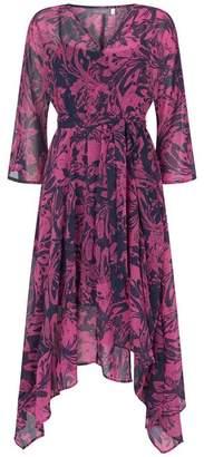 Mint Velvet Connie Print Wrap Effect Dress