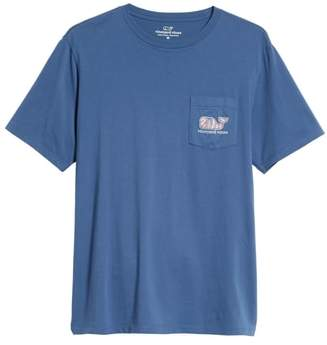 Vineyard Vines Mermaids Whale Fill Graphic Pocket T-Shirt