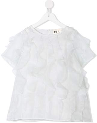 Douuod Kids ruffled blouse