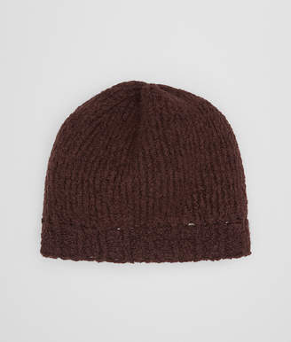 Bottega Veneta COFFEE WOOL HAT