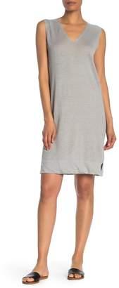 Kinross Sleeveless V-Neck Linen Dress