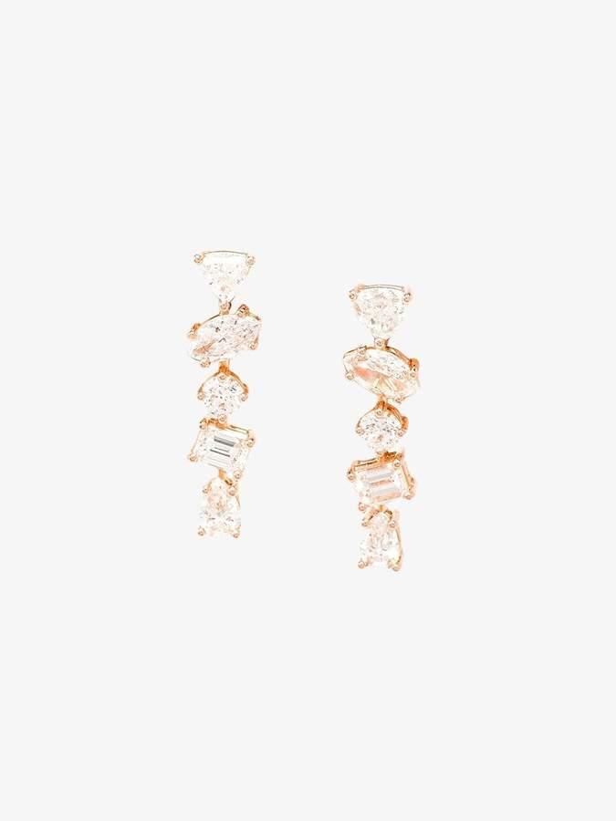 Kimberly Mcdonald 18k Rose Gold Diamond Stud Earrings