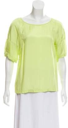 Dries Van Noten Bateau Neck Short Sleeve T-Shirt