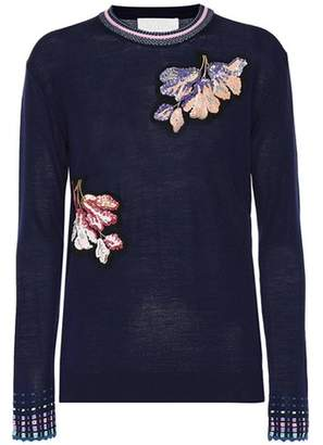 Peter Pilotto Embroidered wool sweater