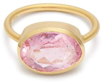 Irene Neuwirth Tourmaline & Rose Gold Ring - Womens - Pink