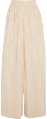 Miguelina Nadira Cotton-gauze Pants - Cream