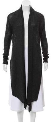 Helmut Lang Alpaca & Wool-Blend Knit Cardigan