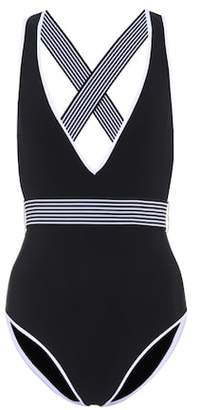 Diane von Furstenberg Deep V-neck swimsuit