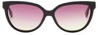 Diesel Women's Cat Eye Acetate Frame Sunglasses $200 thestylecure.com