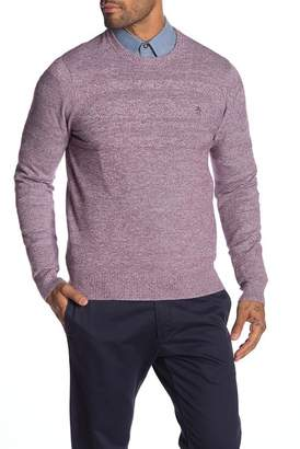 Original Penguin Crew Neck Marled Knit Sweater
