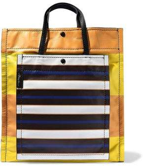 3.1 Phillip Lim Accordion Striped Leather Tote
