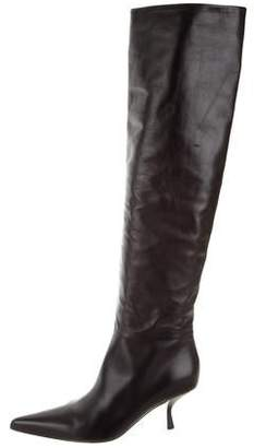 The Row Bourgeoisie Over-The-Knee Boots