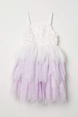 H&M Tulle Dress - White