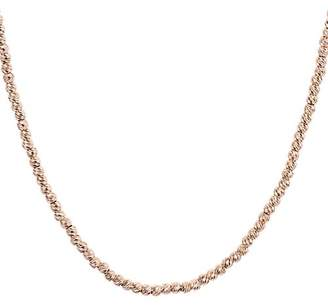 Aqua Sterling Sparkle Necklace, 17""