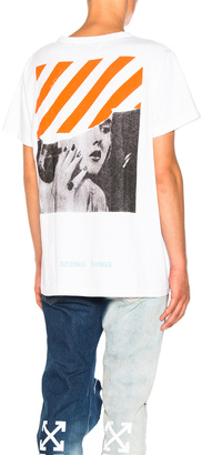 OFF-WHITE Photocopy Tee $306 thestylecure.com